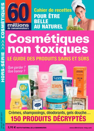 cosmétiques non toxiques sains et sûrs