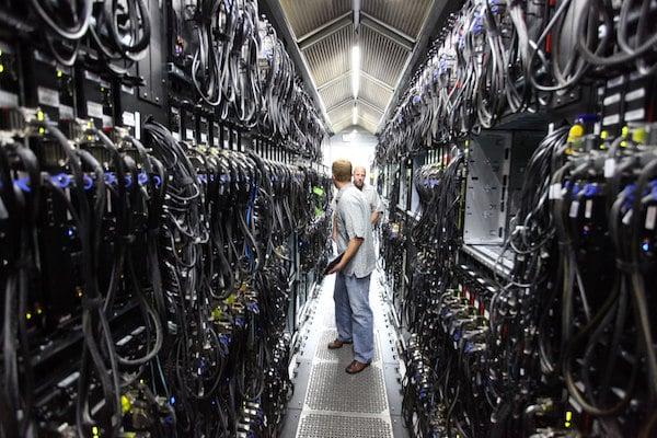 web et écologie datacenters