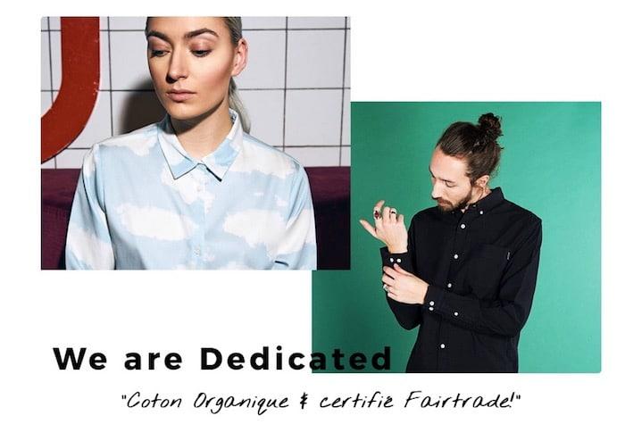 dedicated vêtements écologiques