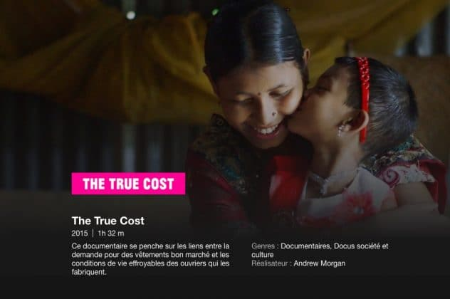 documentaire the true cost fast fashion