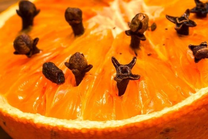 orange clous de girofle