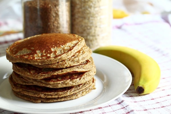 pancakes à la banane sans gluten