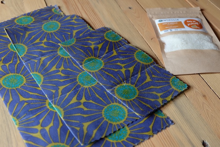 bee's wrap emballage alimentaire réutilisable