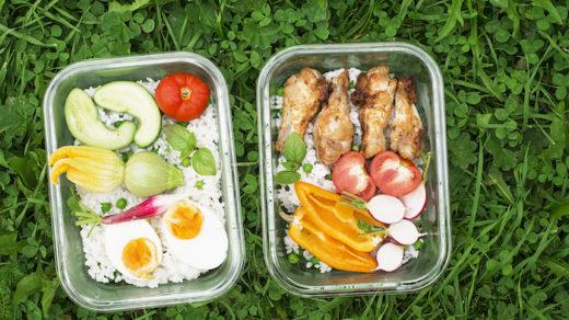 repas zéro déchet extérieur
