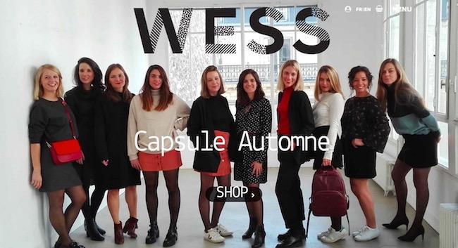 capsule wess mode éthique