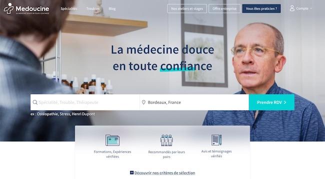 annuaire médecines douces médoucine