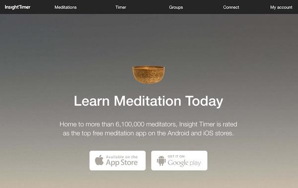 appli méditation insight timer