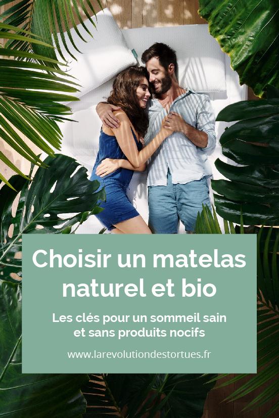 matelas sain naturel bio