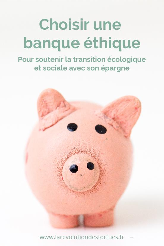 placer son épargne dans une banque éthique