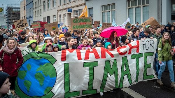 marche pour le climat écolo