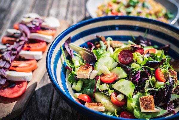 idées recette salade de légumes crus