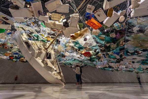 pollution plastique objets à usage unique