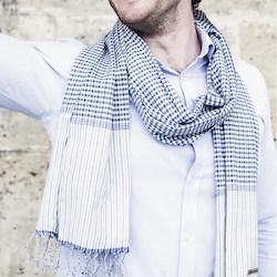 cadeau éthique foulard coton bio