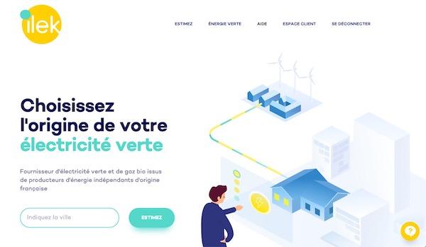 fournisseur d'énergie renouvelable ilek