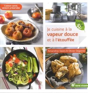 livres recettes de cuisine vapeur douce étouffée