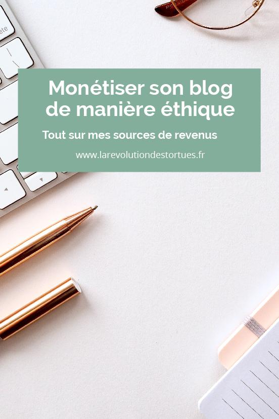 monétiser blog écolo