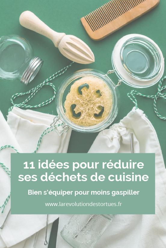 idées réduire ses déchets cuisine