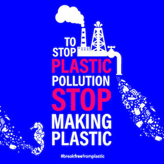 stop production de plastique