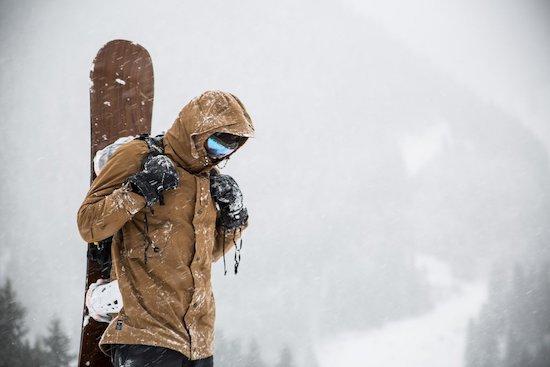 veste ski coton bio