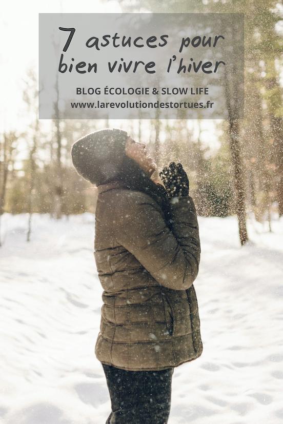 astuces pour bien passer l'hiver