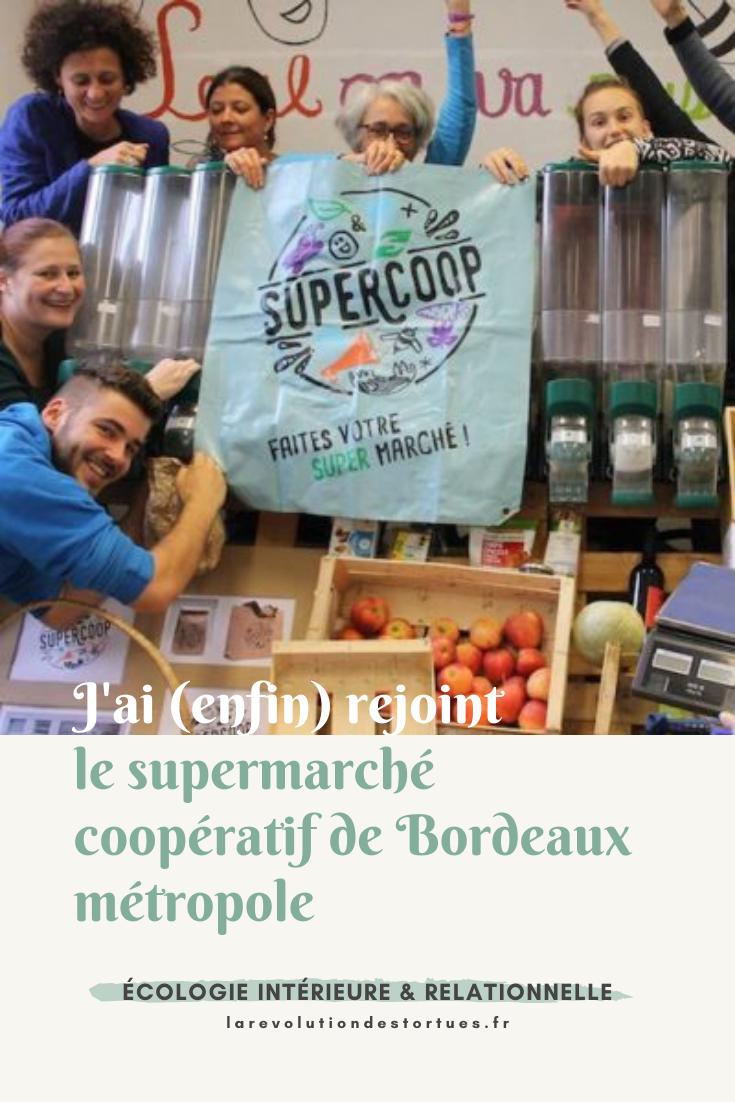supermarché coopératif bordeaux